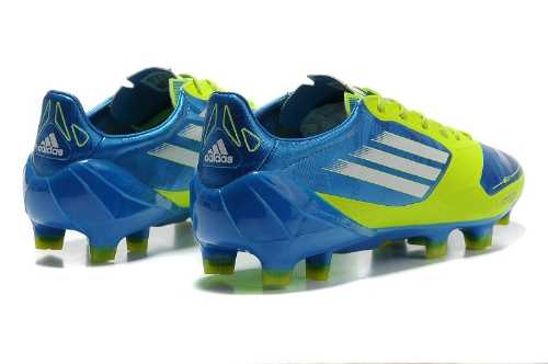 site professionnel classcic nouveaux styles adidas f50 bleu vert pour des sorties bon marché ...