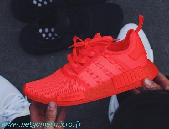 Nmd Des Rouge Adidas Sorties Marché Fluo Pour Bon 8nOwvm0PyN