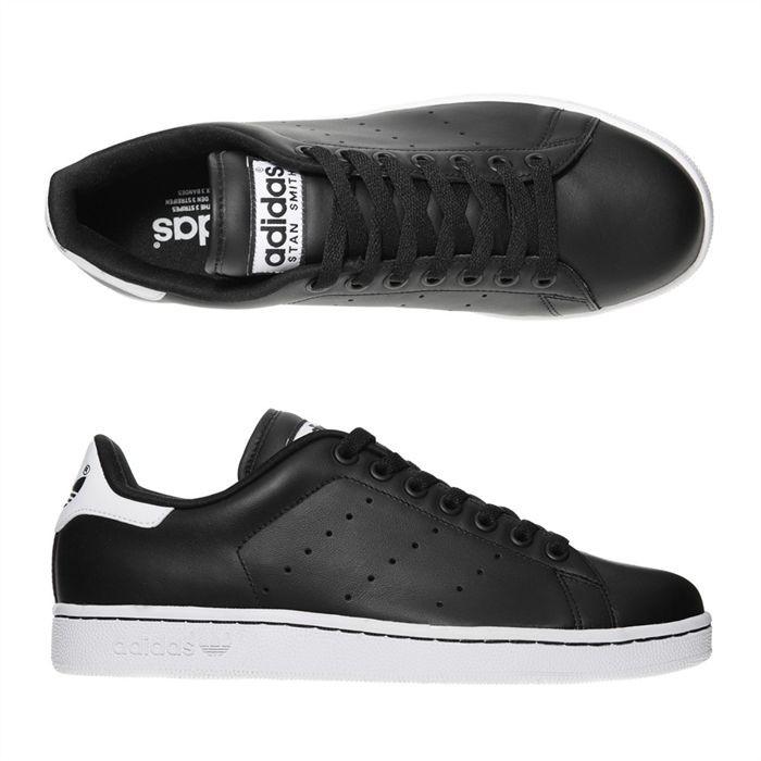 adidas stan smith noir semelle blanche pour des sorties bon