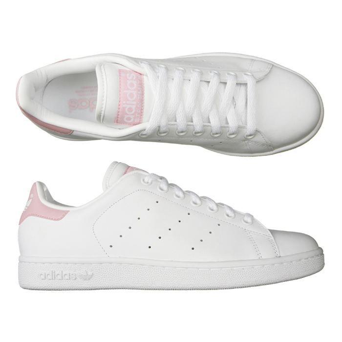 Adidas Des Smith Rose Clair Stan Bon Pour Marché Sorties xBderoC
