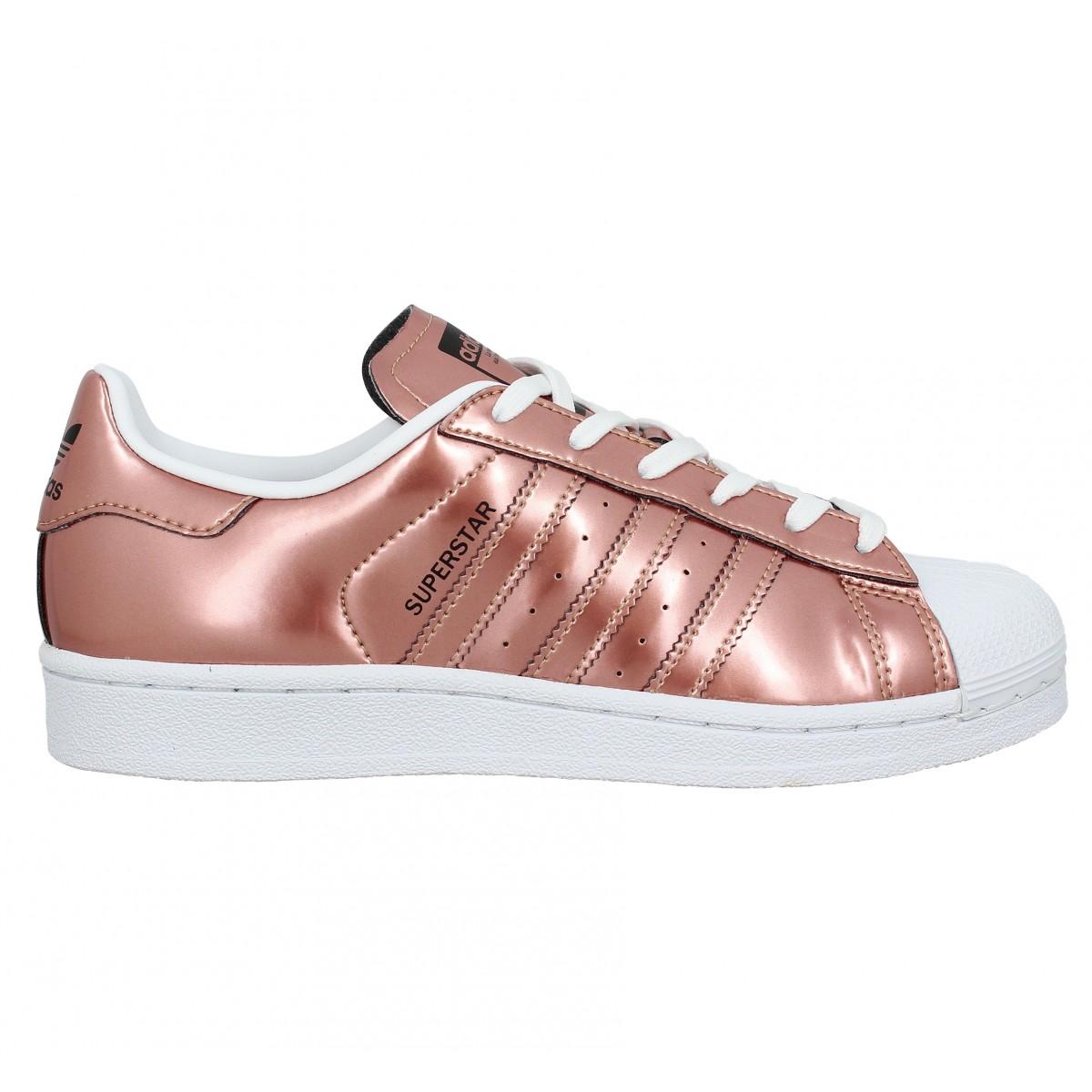 adidas femme superstars rose gold