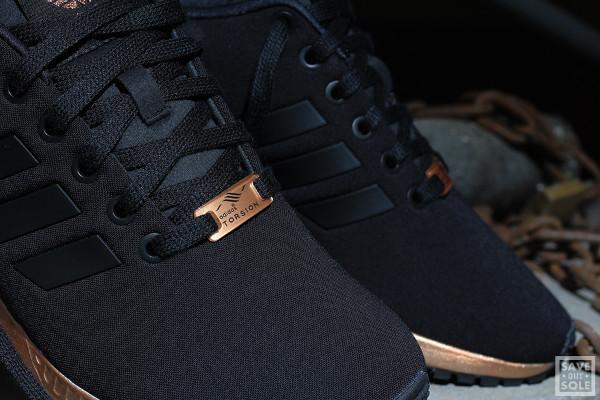 adidas torsion femme noir et bronze pour des sorties bon