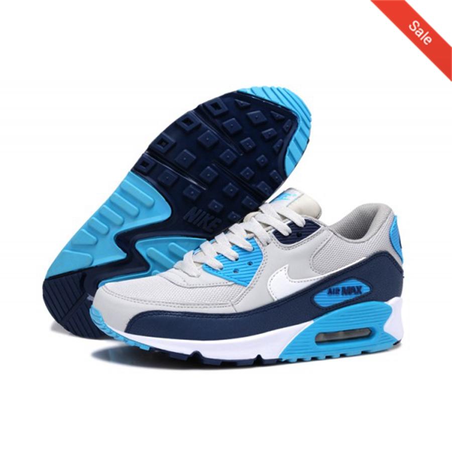 Nike Air Max 97 Se (GS) Baskets BleuBlancGris Bleu