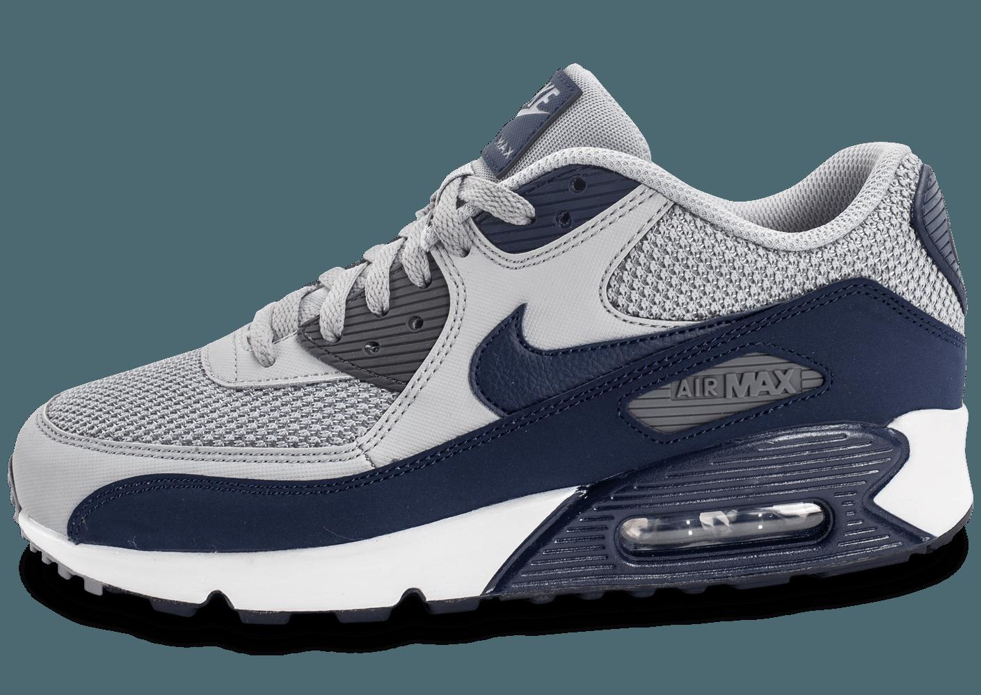 air max bleu et gris