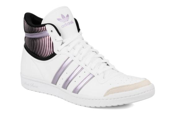 basket adidas femme top ten hi sleek pour des sorties bon ...
