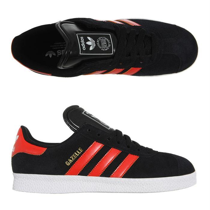 basket adidas rouge et noir pour des sorties bon marché