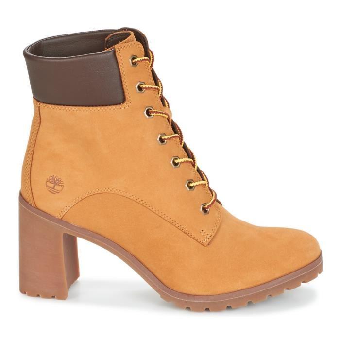 chaussure imitation timberland talon
