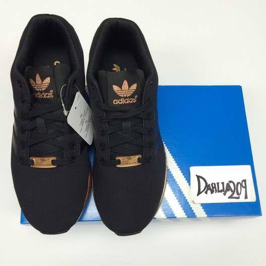 chaussure adidas femme noir et or pour des sorties bon marché ...